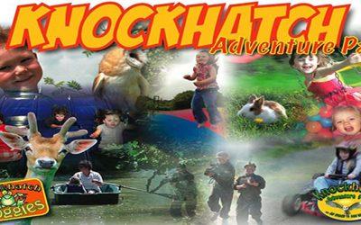 Knockhatch Adventure Park situated close to Pop-up Campsites