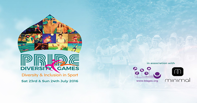 Pride Diversity Games 23rd to 24th July 2016