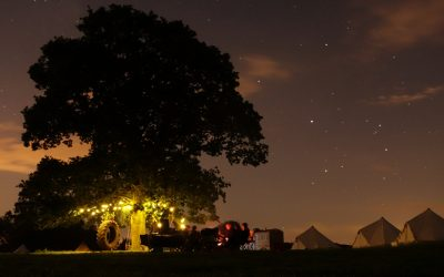 Pop Ups Hastings campsite