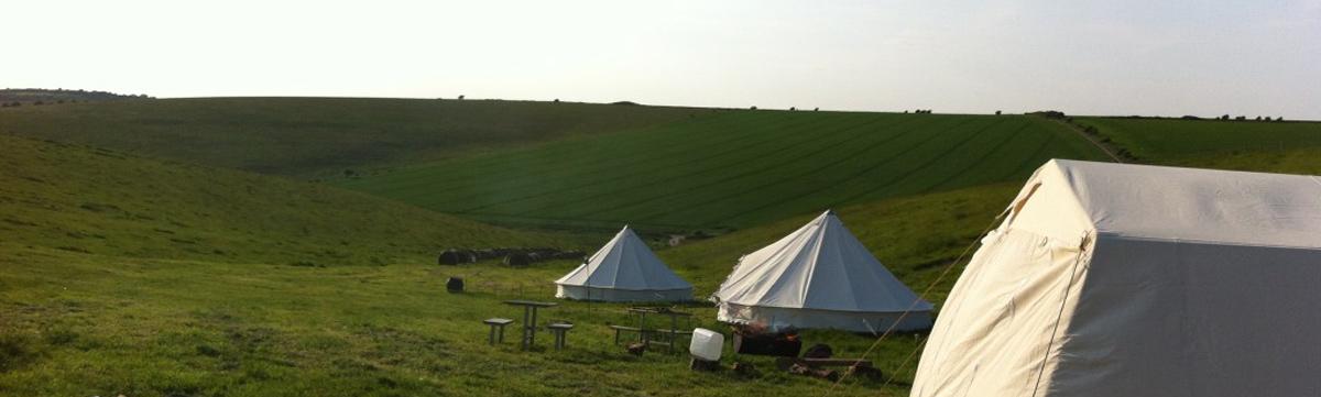 sussex downs campsite uk