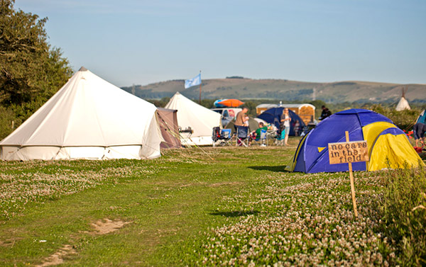 camping near river adur sussex