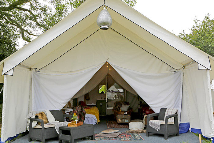 camping safari suite somerset