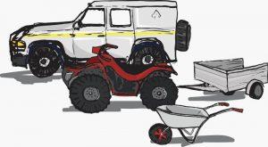 sussex campsite transport