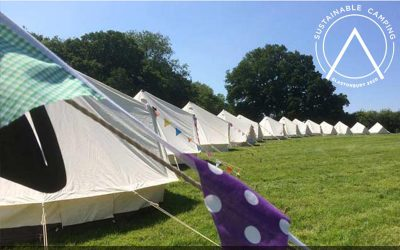 Glamping at Glastonbury with Bell Tent Camping