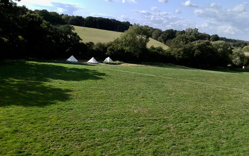 sussex camping holiday