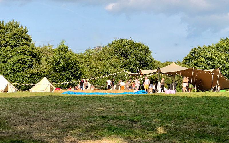 Outdoor Party Field