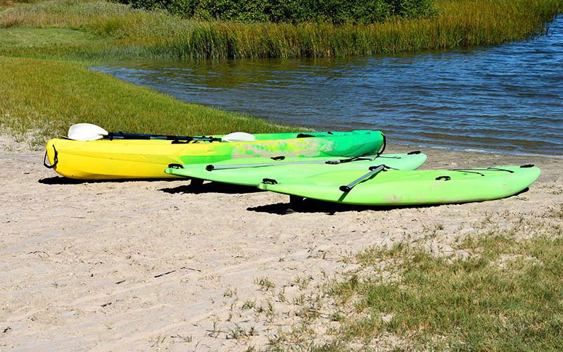 pop up campsite watersports